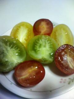 トマトの集合♪